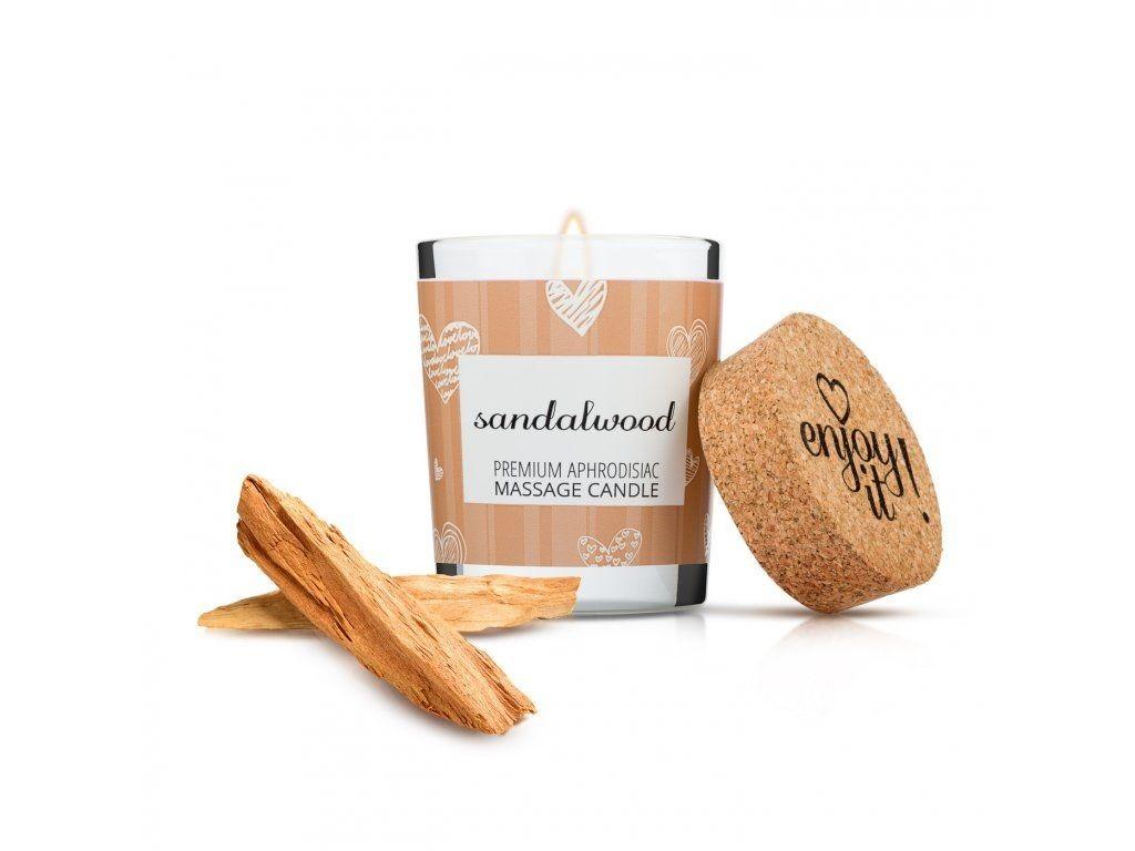 Masážní svíčka Magnetifico Enjoy it! Sandalwood 70 ml