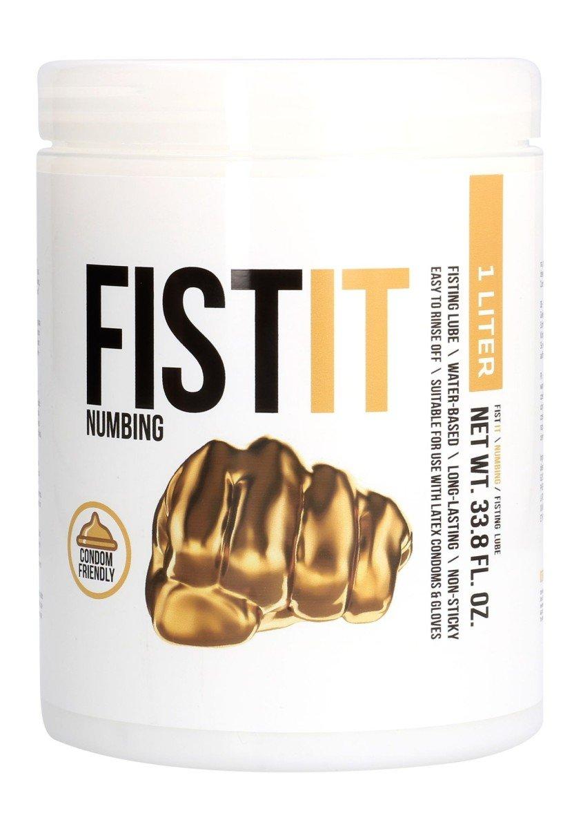 Shots Fist-It Numbing 1000 ml, lubrikační gel na vodní bázi pro fisting