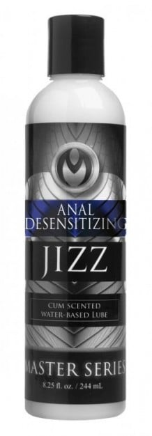 Master Series Jizz Anal Desensitizing Lube 244 ml