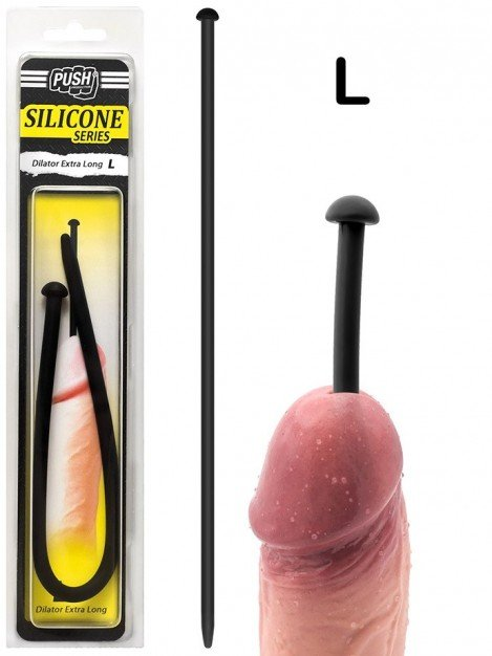 Push Silicone Dilator Extra Long L