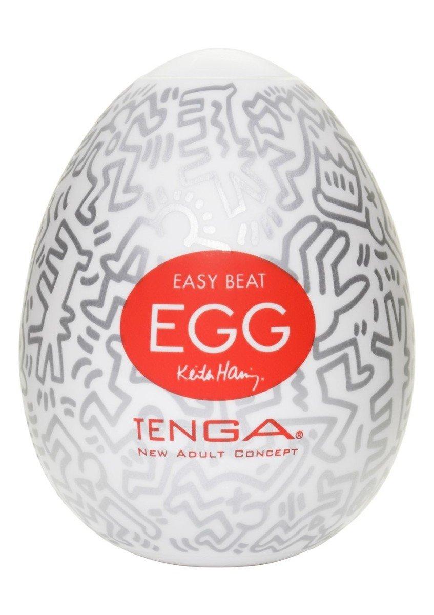 Masturbační vajíčko Tenga Egg Keith Haring Party