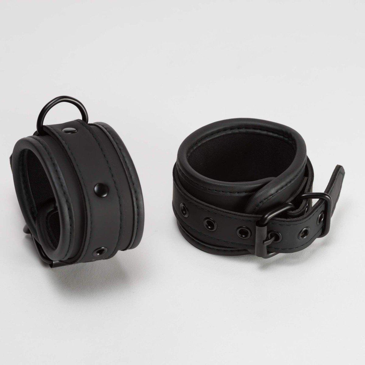 665 Neoprene Ankle Restraints Black