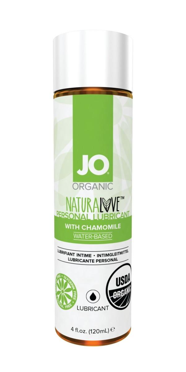 System JO Organic Naturalove Lube 120 ml