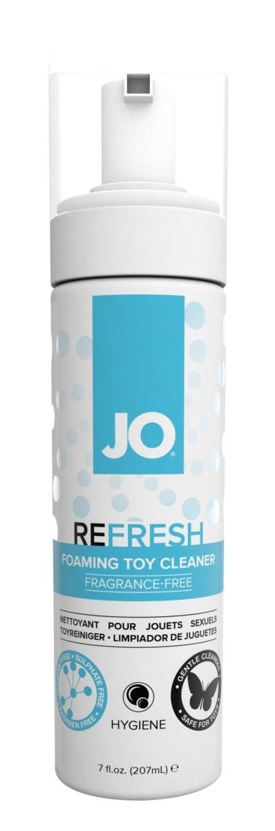 System JO Refresh Foaming Toy Cleaner 207 ml, pěnový čistič na erotické pomůcky
