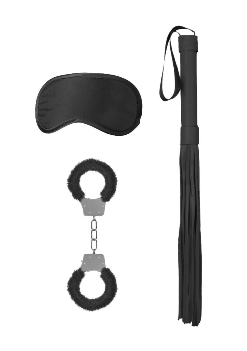 Bondage sada Ouch! Introductory Kit 1 černá