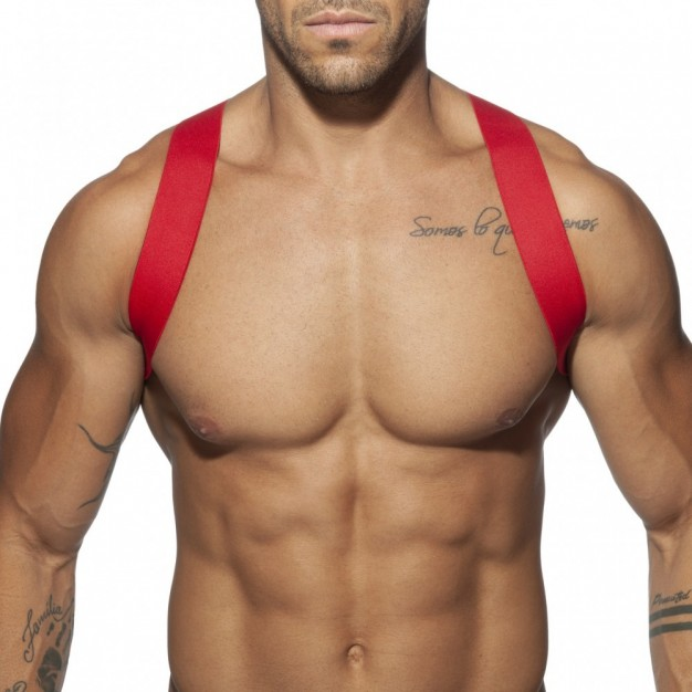 Addicted AD814 Spider Harness Red