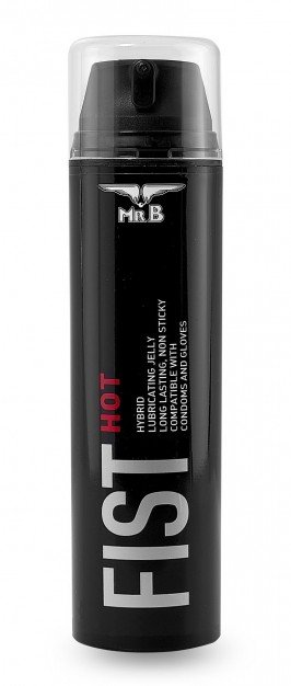 Mister B Fist Hot Lube 200 ml