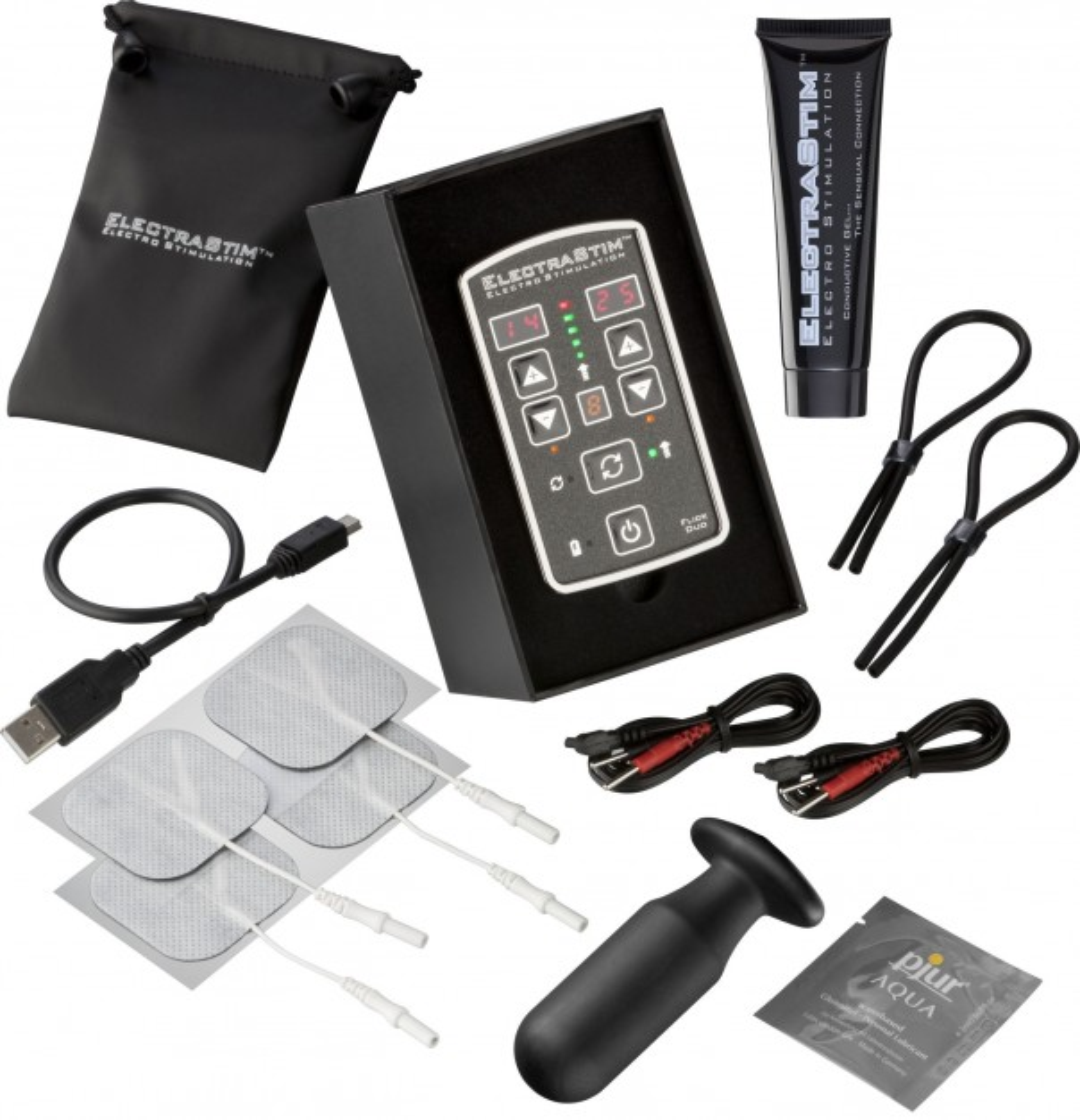 Stimulátor ElectraStim Flick Duo Multi-Pack