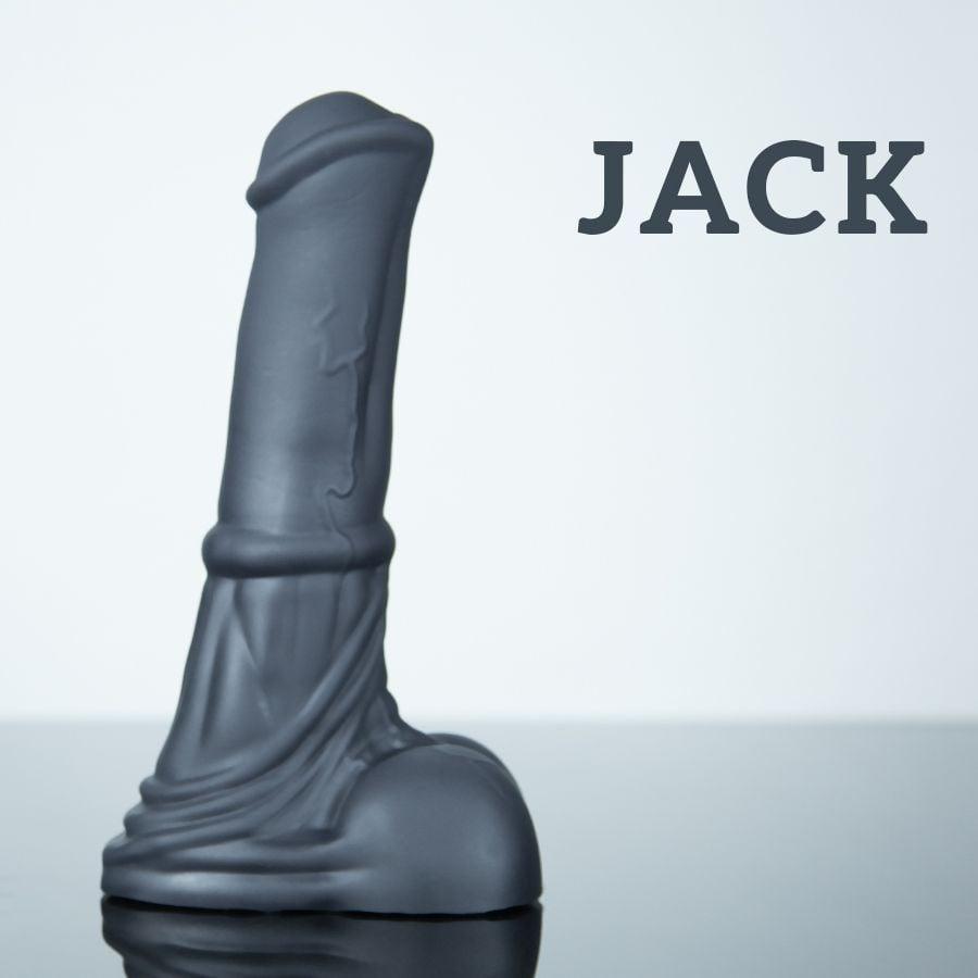 Koňské dildo Weredog Jack Jet velké