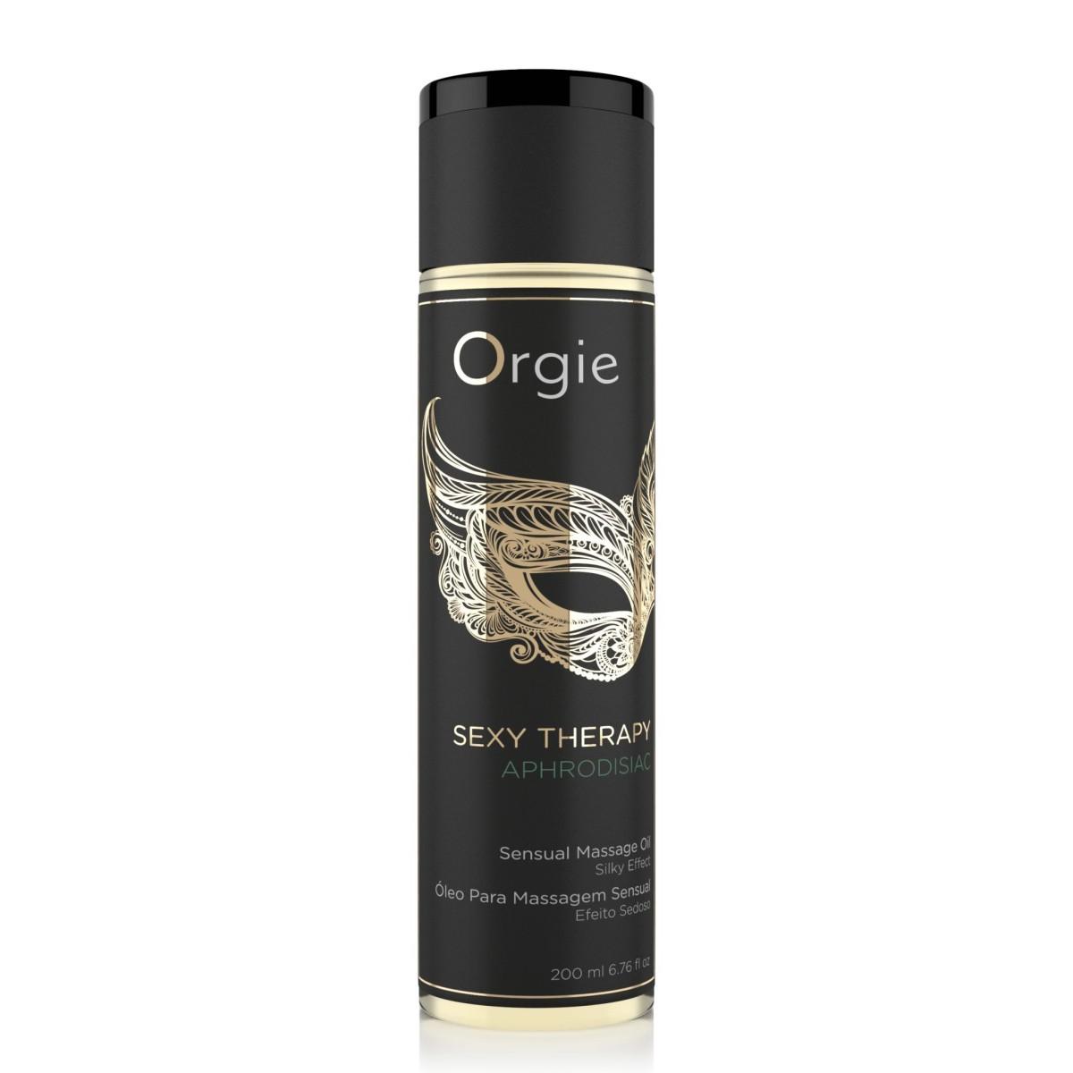 Orgie Sexy Therapy Aphrodisiac Massage Oil 200 ml