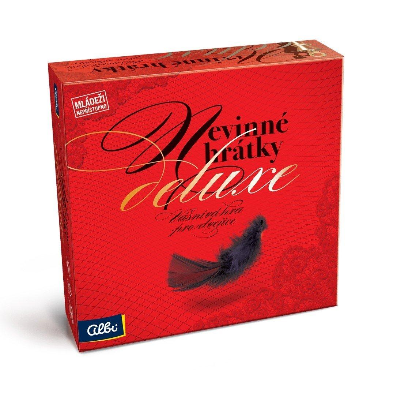 Albi Nevinné hrátky Deluxe, desková hra pro páry