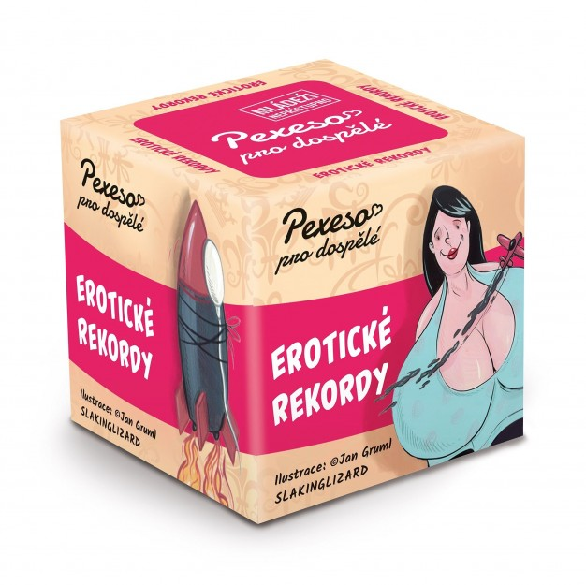 Albi Hříšné pexeso - Erotické rekordy, erotické pexeso pro dospělé
