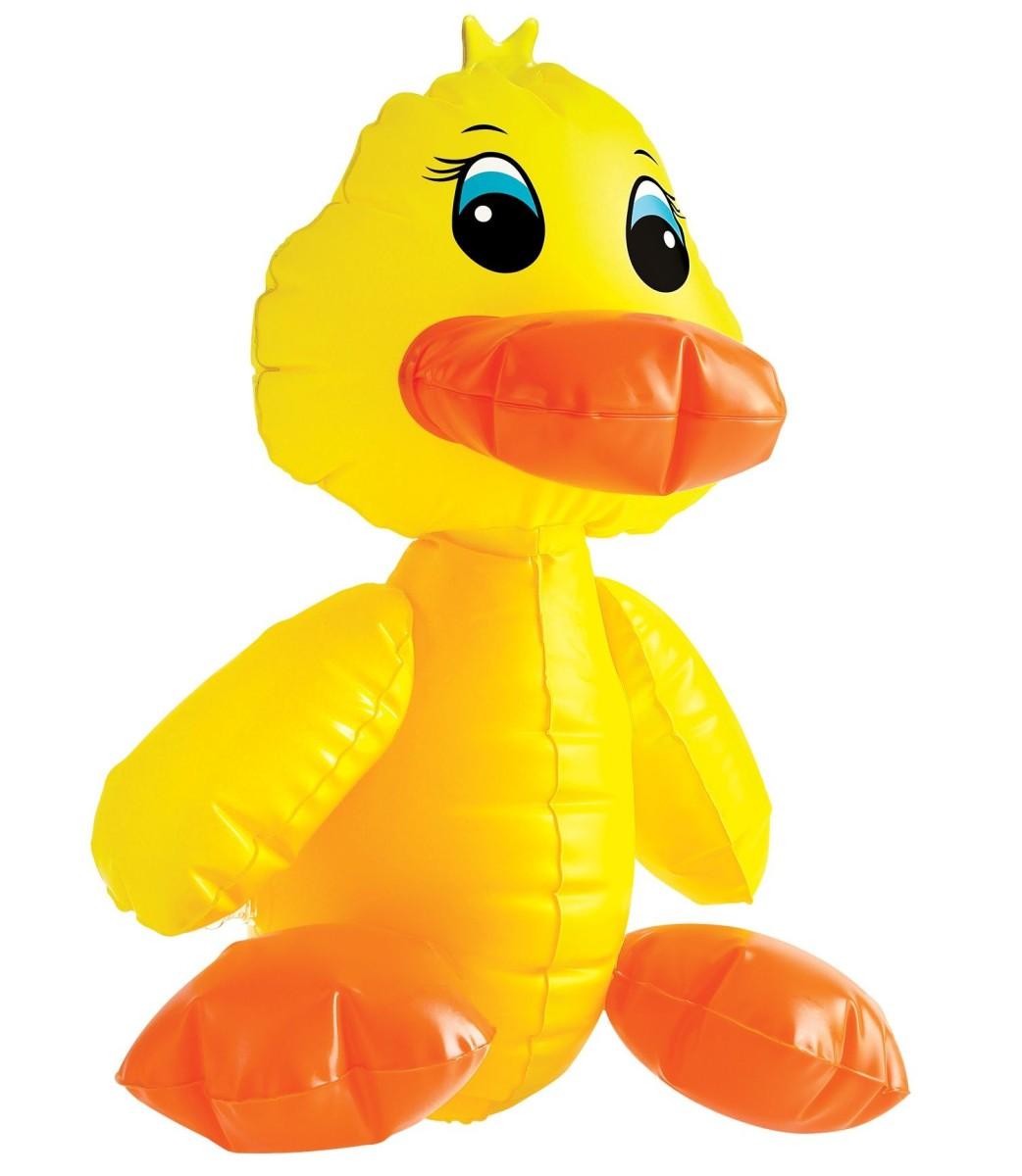 Pipedream F#CK-A-DUCK Yellow, žlutá masturbační kačenka