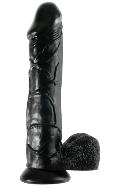 Pipedream Basix 12″ Mega Dildo Black