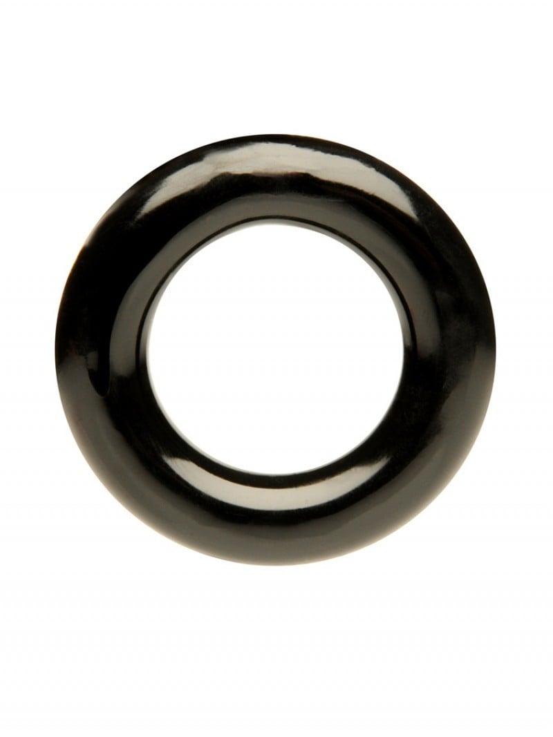 Erekční kroužek M&K Stretch Ring černý