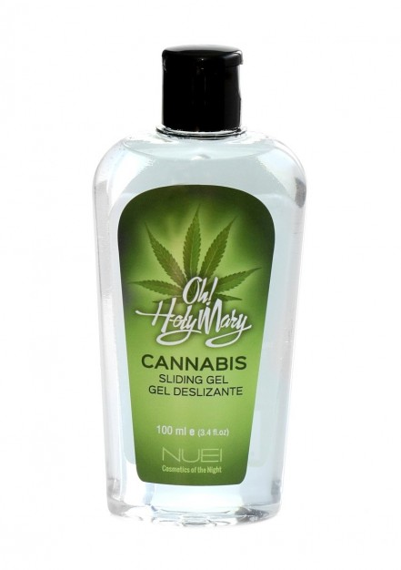 Hřejivý lubrikační gel Nuei Oh! Holy Mary Cannabis Sliding Gel 100 ml