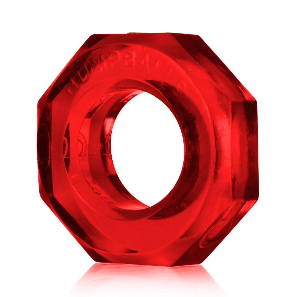 Erekční kroužek Oxballs Humpballs červený