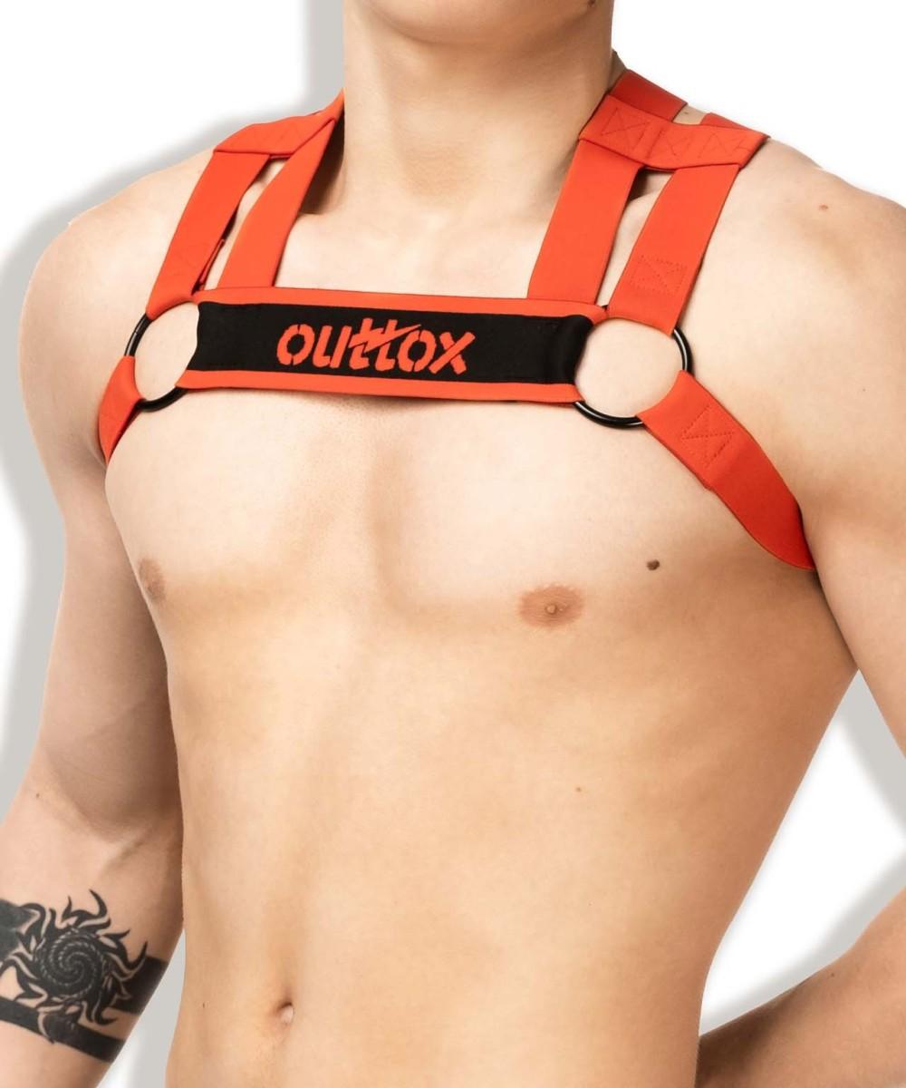 Harness Outtox HR140-10 Bulldog červený