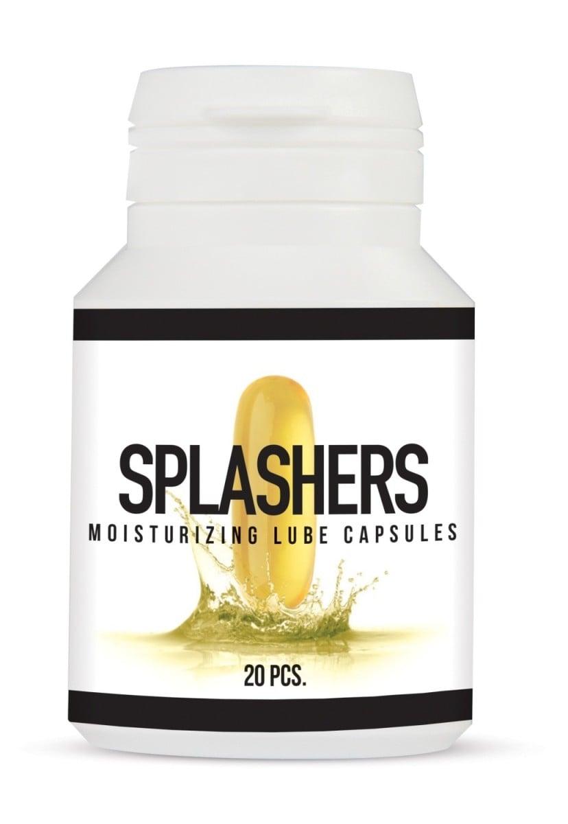 Lubrikační gel v kapslích Splashers