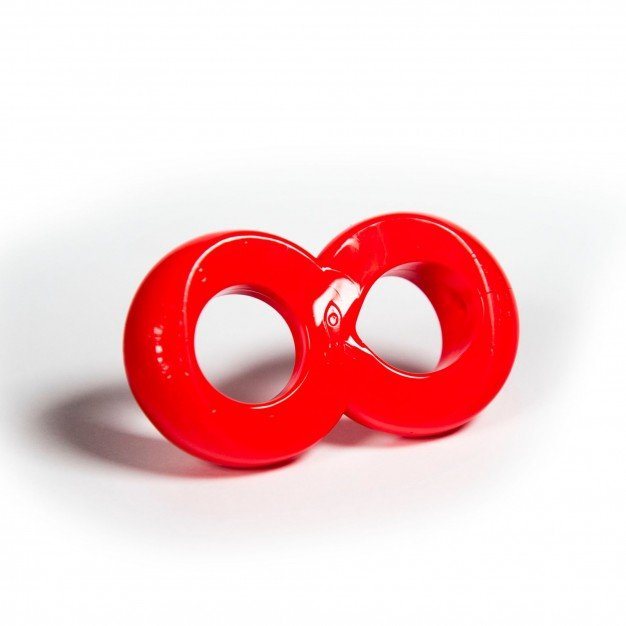Zizi Cosmic Ring Cock Ring Red