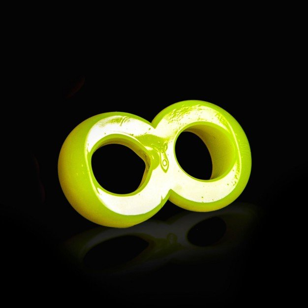 Zizi Cosmic Ring Cock Ring Fluo Yellow