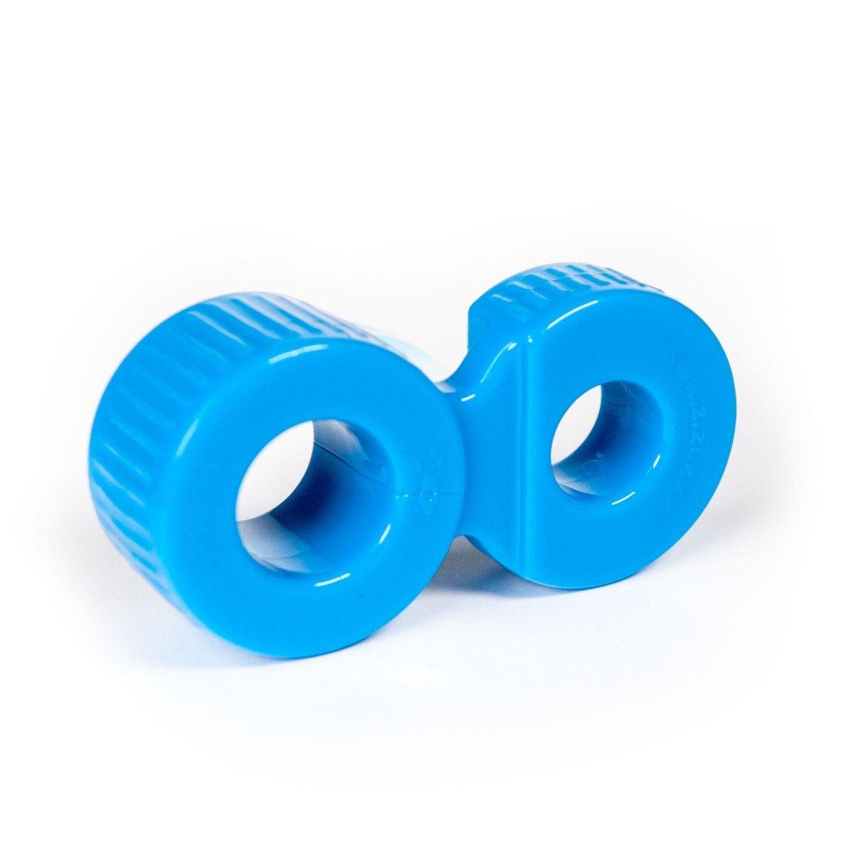 Erekční kroužek a natahovač varlat Zizi Trainer modrý