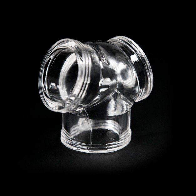 Zizi Megamen Cocksling Cock Ring & Ball Stretcher Clear
