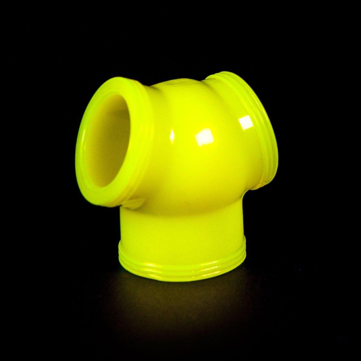 Erekčný krúžok a naťahovač semenníkov Zizi Megamen Cocksling žltý