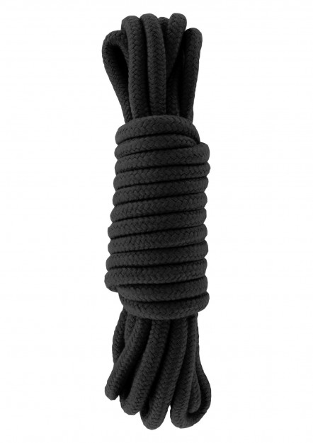 Hidden Desire Bondage Rope 5 m Black