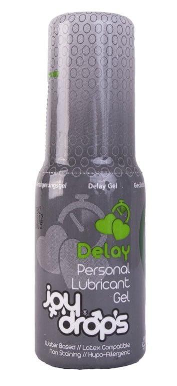 Lubrikační gel JoyDrops Delay 50 ml