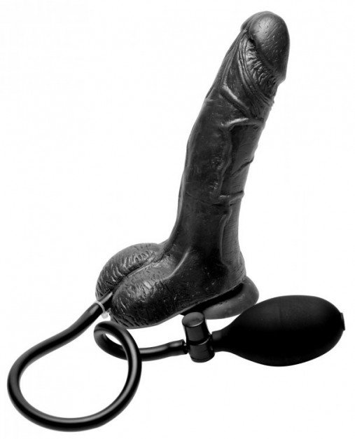 Trinity Vibes Inflatable Suction Cup Dildo
