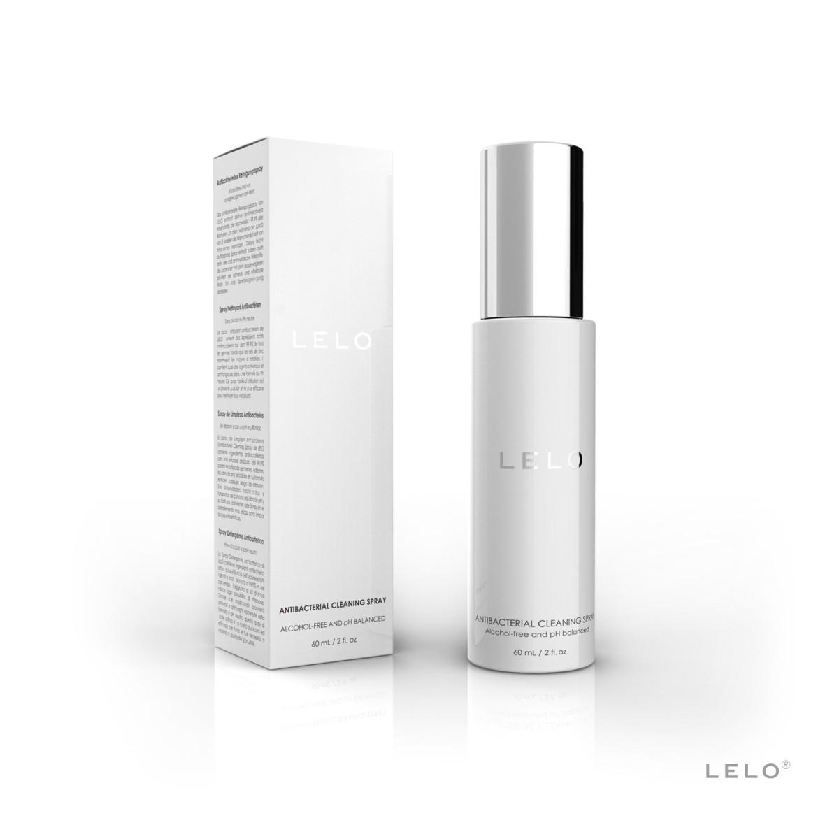 Lelo Antibacterial Cleaning Spray 60 ml, antibakteriální čistící sprej na erotické pomůcky