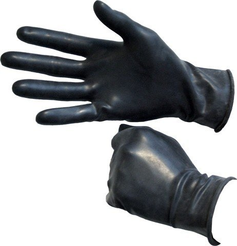 Gumové rukavice Mister B černé