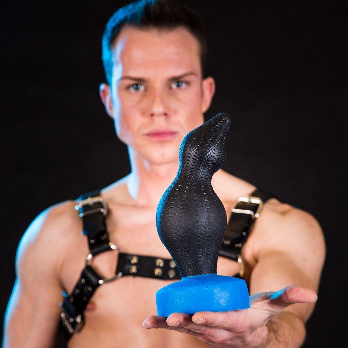 Análny kolík Bulder Stor Falun čierno-modrý