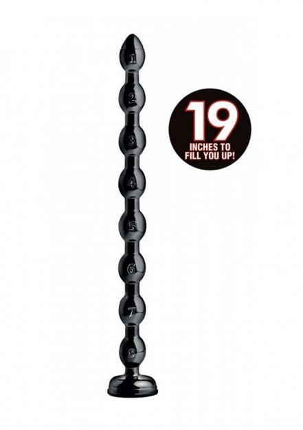 Anální koule Hosed 19 Inch 1.5″ Beaded Hose