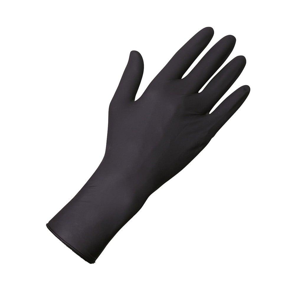 Vyšetrovacie rukavice Unigloves Select Black 300