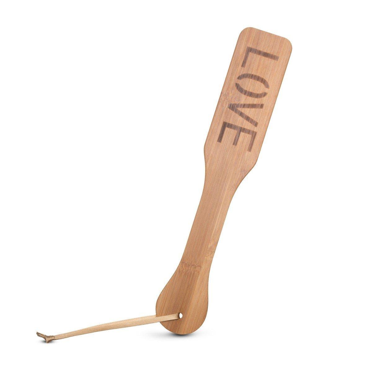 Plácačka EasyToys Bamboo Paddle Love