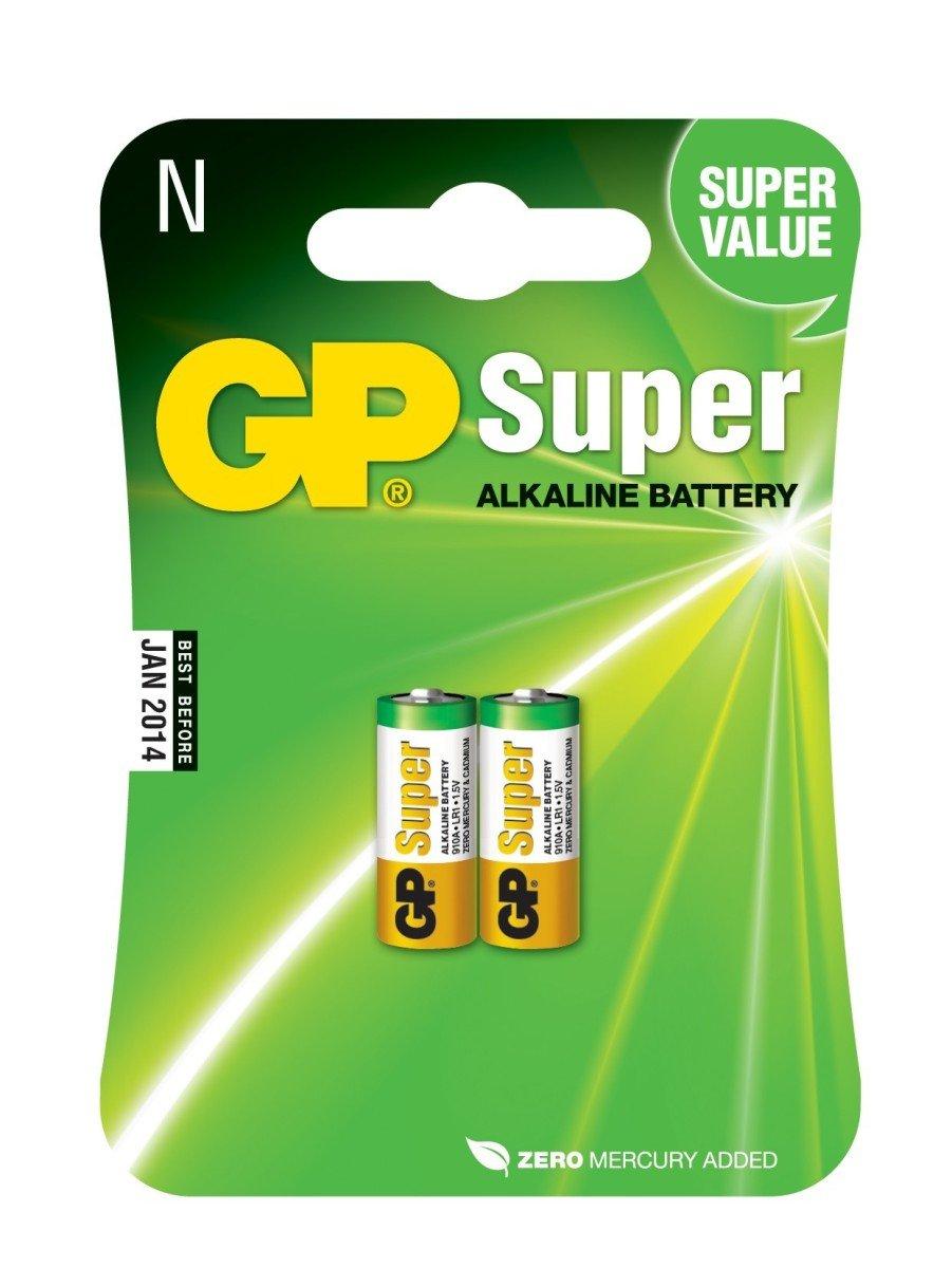 GP N LR1 1.5 V, baterie LR1 / N 1,5 V (2 ks)
