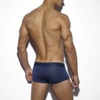 Boxerky ES Collection UN116 Basic Modal Short Boxer tmavě modré