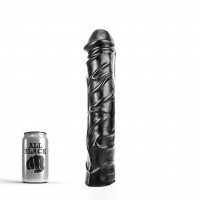 All Black AB19 August Dildo