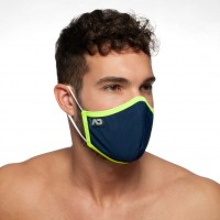 Rúško Addicted AC106 Spider Mask tmavo modré