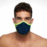 Addicted AC106 Spider Face Mask Navy