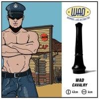 Análne dildo Mister B WAD39 Cavalry