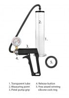 Pumped Ultra-Premium Penis Pump 12″