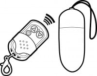 Vibrační vajíčko Shots Toys Wireless Big černé