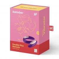 Vibrátor pre páry Satisfyer Partner Plus Remote