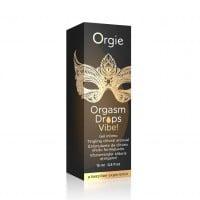 Stimulační olej Orgie Orgasm Drops Vibe! 15 ml