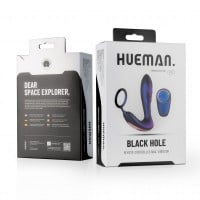 Vibračný stimulátor prostaty Hueman Black Hole