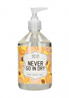 Análny lubrikant Never Go in Dry 500 ml