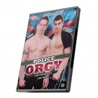Bareback Orgy Boys: Police Orgy DVD